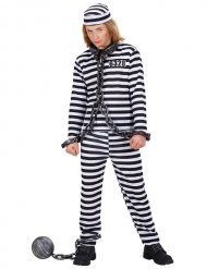 Kostume fanger sort og hvid til børn