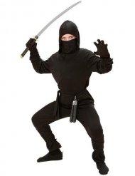 Kostume ninja sort til børn