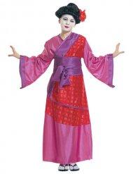 Kostume geisha til børn