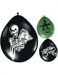 Ballon 8 stk Halloween