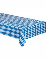 Dug i de Bayerske blå og hvide farver 260x80 cm