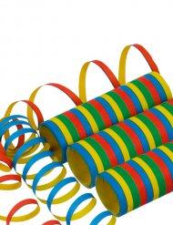 Rulle serpentin multifarvet 400 x 0,7 cm