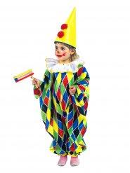 Kostume heldragt klovn til børn