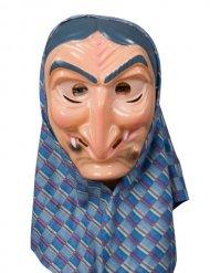 Hekse maske med grin