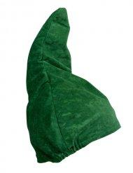 Hue dværg grøn og spids
