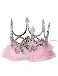 Prinsessekrone lyserød