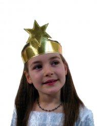 Pandebånd guld med stjerne til børn