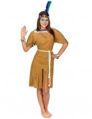 Den elegante - Indianerkostume til kvinder
