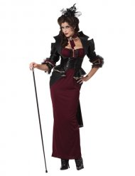 Kostume vampyr gotisk Halloween til kvinder