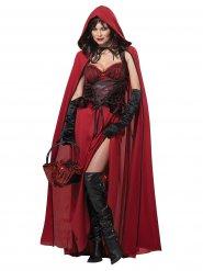 Kostume Lille Rødhætte ond til Halloween