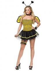 Kostume sexet gul og sort bi til kvinder