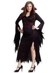 Gotisk Halloween vampyrkostume til kvinder