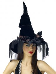 Sort heksehat til Halloween