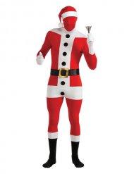 Second skin kostume til voksne - Julemand