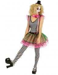 Kostume harlequin klovn til kvinder