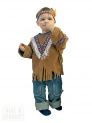 Kostume indianer western brun til børn