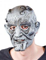 Grå monster Halloween maske