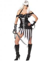 Pirat kostume gotisk kvinde Halloween