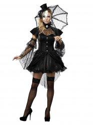 Kostume dukke gotisk til kvinder Halloween!