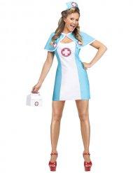 Forførende sygeplejerske kostume kvinde