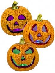 Lysende græskar med glimmer Halloween