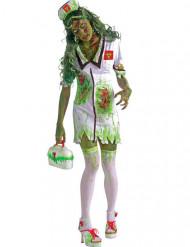 Zombie sygerplejerske kostume halloween