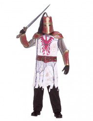 Zombie ridder kostume