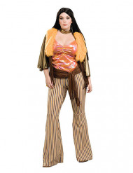 Kostume kvinde hippie 60