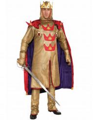 Middelalder konge kostume mand