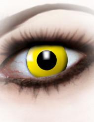 Fantasi linser gul - voksen