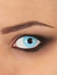 Lyseblå linser til voksne