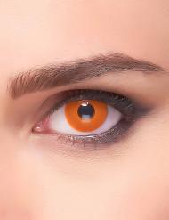 linser fantasi øjrne orange voksen