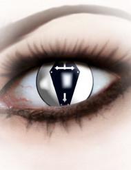 Kontaktlinser kiste sort til voksne til Halloween