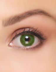 Fantasi linser grøn electro - voksen