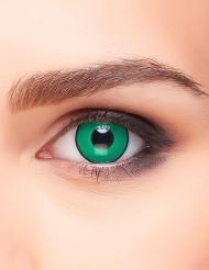 Fantasi linser grøn og sort - voksen