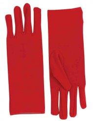 Handsker korte og røde