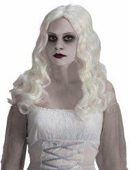 Paryk spøgelses hvidt hår Halloween