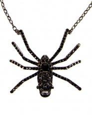 Edderkop halskæde med kranie voksen