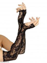 Lange blonde handsker til kvinder