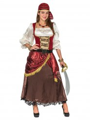 Kostume pirat fra verdenshavene luksus til kvinder