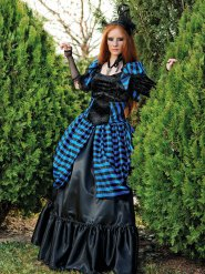 Vampyr kostume viktoriansk til kvinder