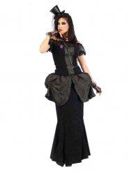 Gotisk viktoriansk kostume kvinde