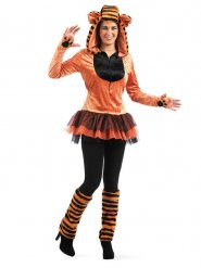 Vild tiger kostume - kvinde