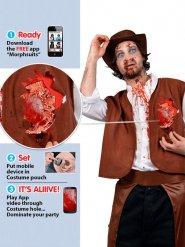 zombie cowboy kostume voksen