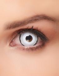 Kontaktlinse venus sort/hvid