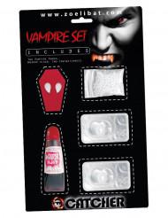 Vampyrkit med linser - Halloween tilbehør