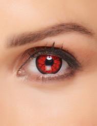 Monster linser i røde til voksne