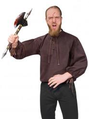 Middelalder udklædning brun voksen