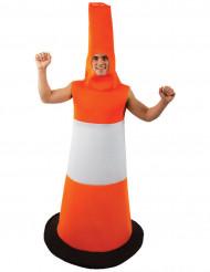 Trafikkegle kostume voksen