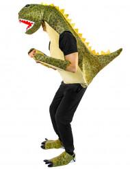 Dinosaur kostume grøn voksen